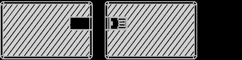 USB-kort Laser gravering