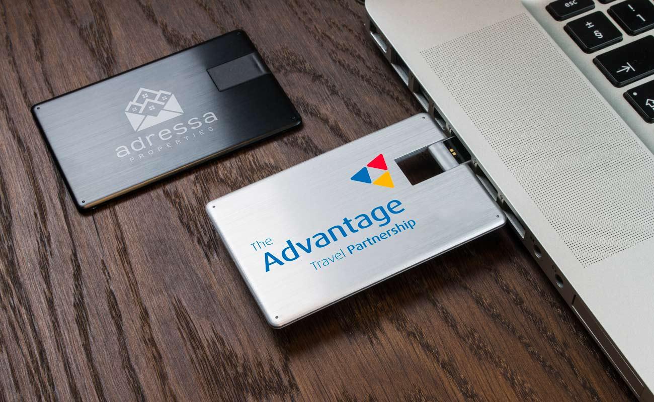 Alloy - USB Visittkort