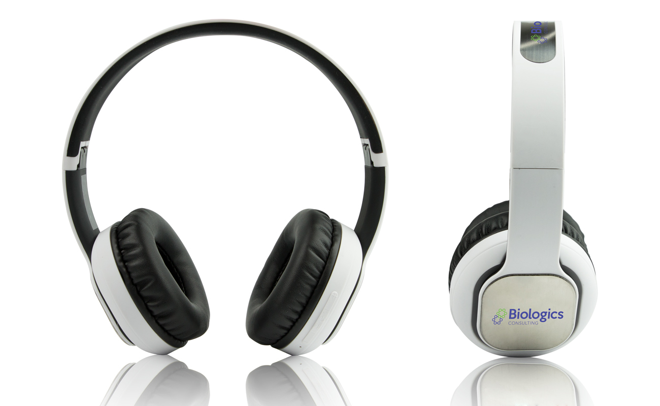 Indie - Wireless Hodetelefoner Med Logo