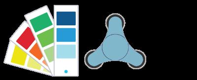 Pantone ® Referanser Fidgetspinner