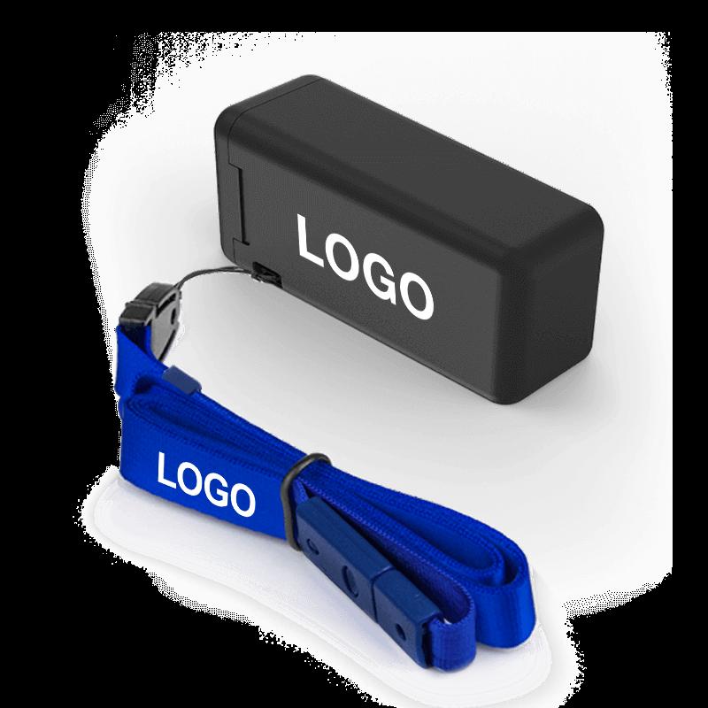 Fold - Gjenbrukbare sugerør med logo