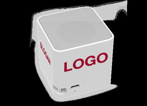 Cube - Bluetooth Høgtaler Med Logo