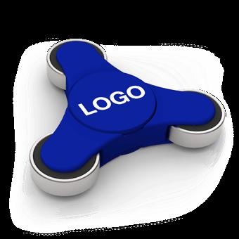 Flow - Logo Fidget Spinner