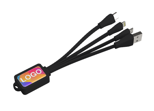 Multi - Merket blekksprut USB ladekabel sett
