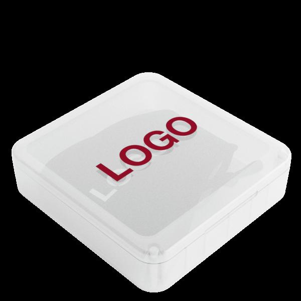 Denim - Tøyunnbind med logo