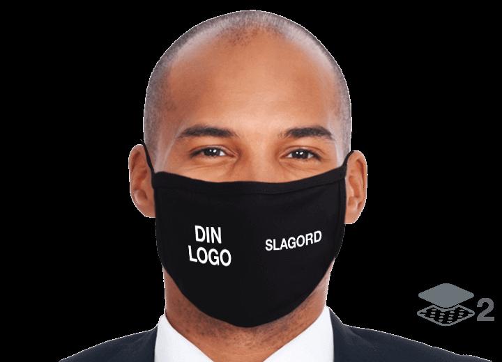 Ultra - Gjenbrukbare tøymunnbind med logo