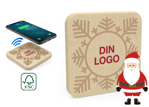 Forest Christmas - Promoterende trådløs lading pad