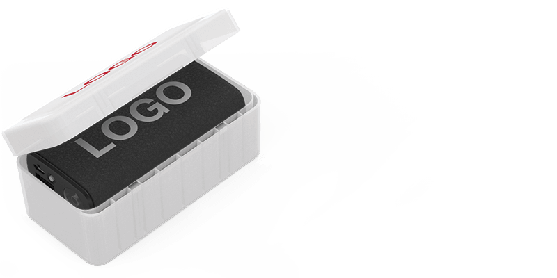 Journey - Powerbanks med Logo
