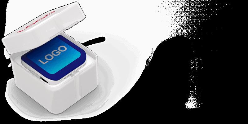 Boost - Powerbank med Logo