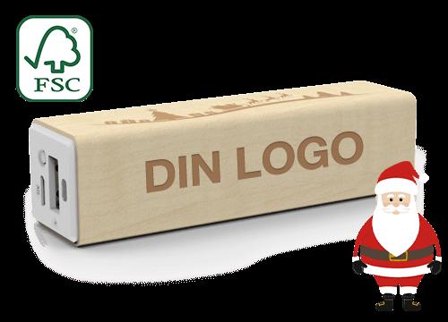 Maple Christmas - Power Bank Logo