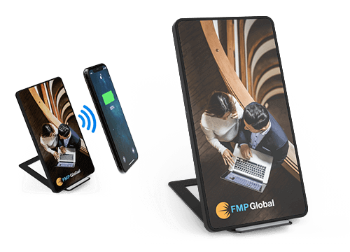 Stand - Bulk trådløs telefon lader pads