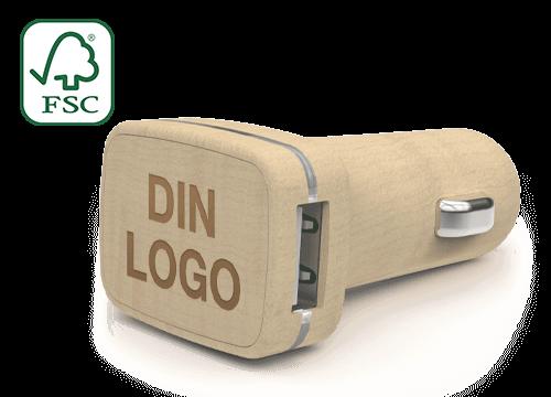 Woodie - Tilpassede USB billadere