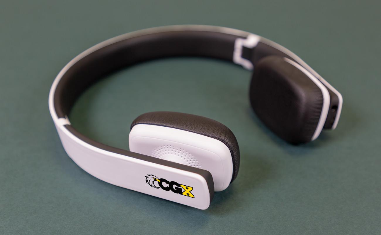 Arc - Wireless Hodetelefoner Med Logo