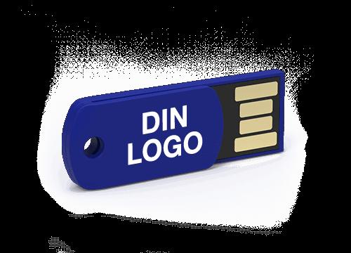 Clip - USB Minnepenn Med Logo