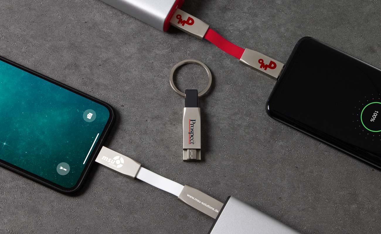 Connex - Mange promoterende USB kabler