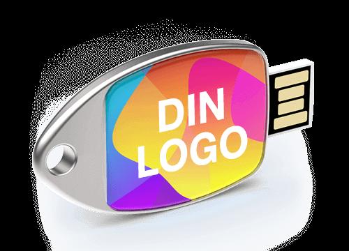 Fin - Minnepinne Med Logo