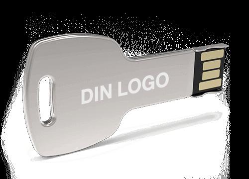 Key - Minnepinne Med Logo