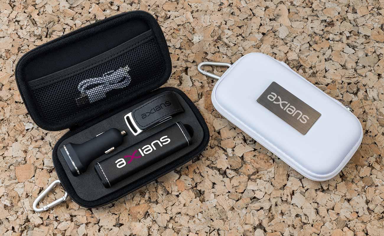 Leather M - Forretning gavesett