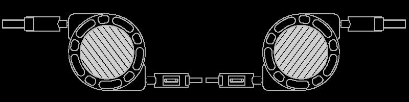 USB-kabel Fototrykk