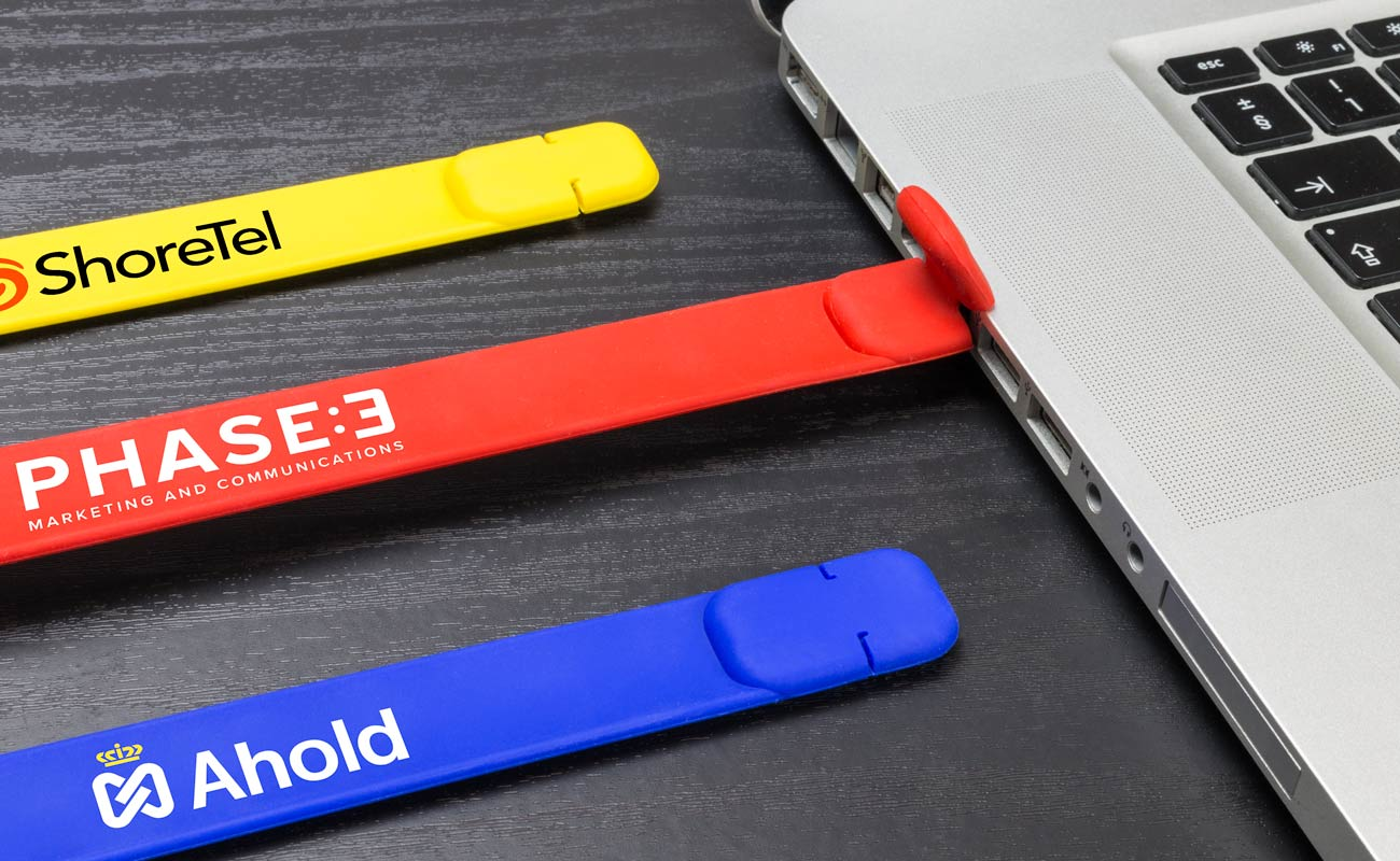 Slap - Tilpasset USB armbånd