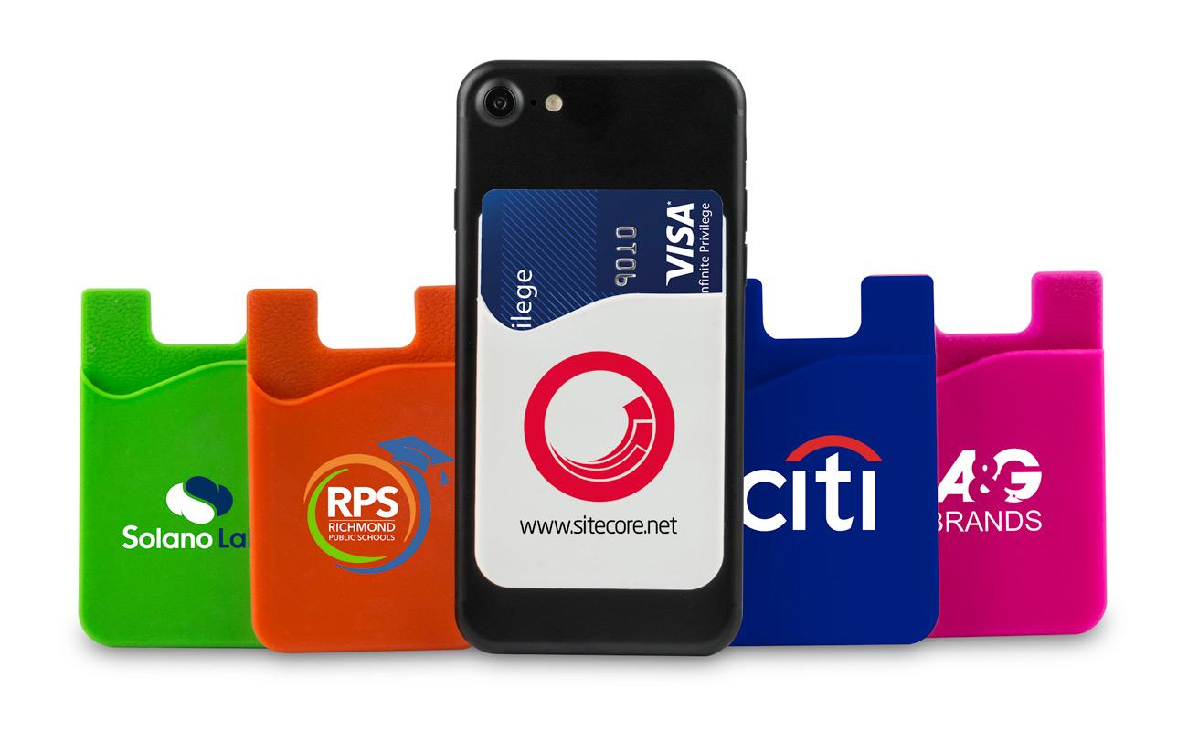 Slim - Tilpasset kortholder til smarttelefon