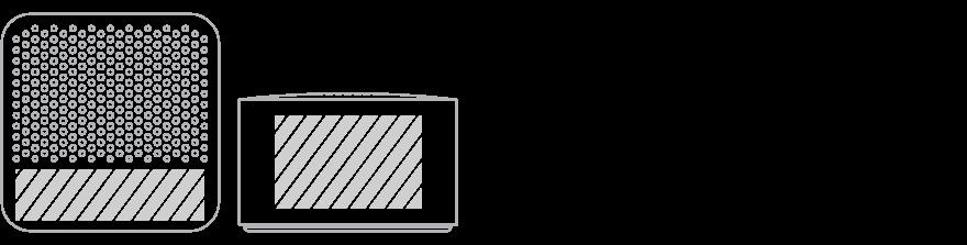Bluetooth® høyttaler Screen Printing