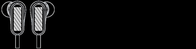 Hodetelefoner Screen Printing