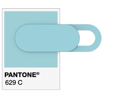 Pantone ® Referanser Webcam cover